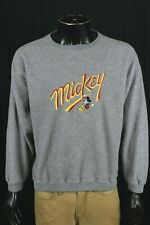 VTG Mickey Mouse Embroidered Sweater Size Medium/Large