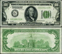 FR. 2151 G $100 1928-A Federal Reserve Note Chicago G-A Block XF+ DGS
