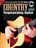 PROGRESSIVE COUNTRY FINGERPICKING GUITAR Book & CD