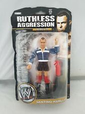 WWE Ruthless Aggression Series 35 Santino Marella Wrestling Figure WWF new