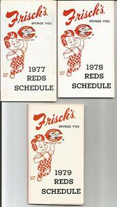 1977 Cincinnati Reds Frisch's baseball schedule