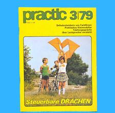 DDR practic 3/1979 Drachen Tischfußball Bootsantrieb Farbfilme entwickeln D