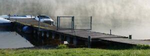 Steg - Boot/Tretboot Anlegesteg, Schwimmsteg - als Ersatzteil