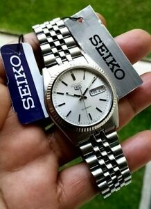 Discontinued Seiko SNXJ89K SILVER Dial Full Set