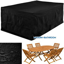 Extra Large 274cm Companion Seat Waterproof Garden Patio Set Furniture Cover UK