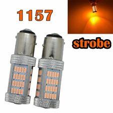 Strobe Front Signal 1157 2057 3496 7528 BAY15D P21/5W 92 LED Bulb Amber M1 MA