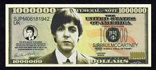 ★★ BEATLES ● PAUL MCCARTNEY ● BILLET 1 000 000 DOLLARS  ★★ B060