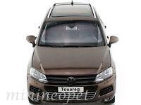 KYOSHO 08821GBR 2010 VW VOLKSWAGEN TOUAREG FSI SUV 1/18 DIECAST MODEL CAR BROWN