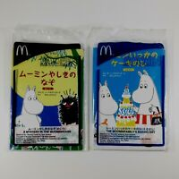 Set Of 2 Moomin Picture Books by McDonald's Happy Meal Collectible Japan Sealed