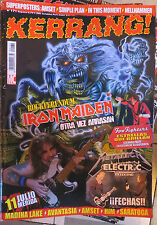 KERRANG :N.171-IRON MAIDEN-LED ZEPPELIN-FOO FIGHTERS-WASP-HELLHAMMER-