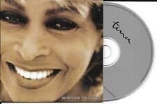 CD CARTONNE CARDSLEEVE TINA TURNER 2T WHATER YOU WANT DE 1996  TBE
