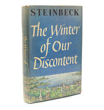 John Steinbeck The Winter of our Discontent The Viking Press 1961 First Ed, DJ