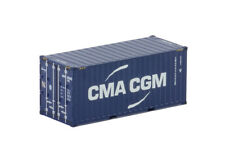 """WSI TRUCK MODELS, 20FT CONTAINER, """"CMA CGM"""",1:50"""