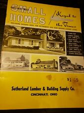 Selected Small Homes Guide Keyed To The Times 1968 National Plan Service