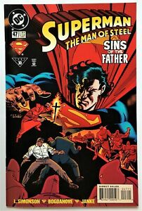 Superman: The Man of Steel #47 (Aug 1995, DC) NM
