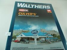 Culver's restaurant Ice cream shopWalthers Building Kit 933-3486 Ho h518