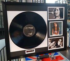 Amy Winehouse-Framed Original Vinyl Album Back To Black-Plaque-Certificate