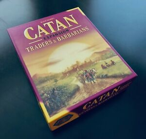 Catan Expansion Traders & Barbarians | Empty Game Box, No Components!