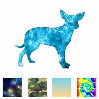 Cute Chihuahua Dog Breed - Decal Sticker - Multiple Patterns & Sizes - ebn2359