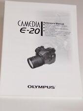 Olympus Camedia E-20N Dslr