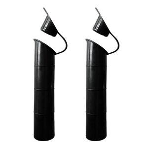 2pcs Flush Mount Fishing Rod Holder Rubber Inner Sleeve Tube for
