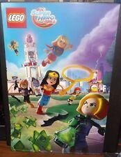 Lego DC Super Hero Girls NYCC 2016 Print Poster Batgirl Wonder Woman Supergirl