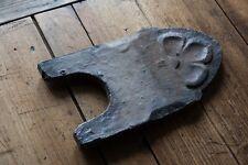 ancienne bordure de jardin en terre cuite vernissée