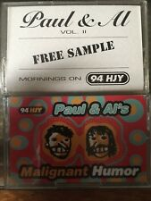 Paul & Al's Malignant Humor & Vol. Ii Whjy Fall River Ma Hjy rare tapes