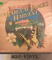 Barclay James Harvest The Best Of Vinyl 1977 Harvest 1st Press A1/B2 LP Ex Con