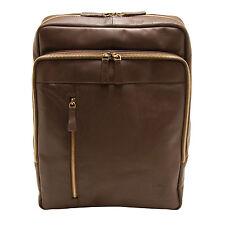 Underwood & Tanner - Brown Leather Josh Shoreditch Rucksack/Backpack