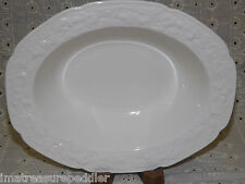CROWN DUCAL china FLORENTINE pattern Oval Vegetable Bowl 8 3/4""