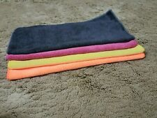 LOT Of Micro fibre cleaning cloth unispun brand 40*40 cm in 4 colors