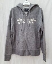 Abercrombie & Fitch Hoodie Grey Hoodies & Sweatshirts for Women