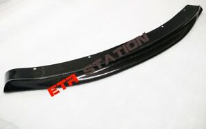 Carbon Fiber Front Bumper Lip Spoiler RKP Style For BMW F06 F12 F13 M6 Only