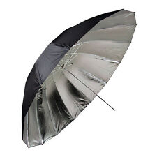 METTLE Studioschirm, Reflektor silber Ø 145 cm Foto-Schirm Reflexschirm Umbrella