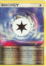 POKEMON DIAMOND AND PEARL STORMFRONT - CYCLONE ENERGY 94/100 REV HOLO