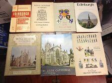 VTG Lot of 1971 Edinburgh Book Guide Map Royal Scottish Academy Military Tattoo
