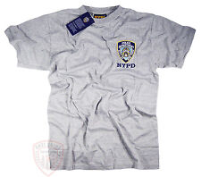 NYPD Shirt T-Shirt Embroidered Patch Decal Gear Gifts Womens Mens Apparel