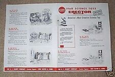 Gilbert Science Toy Erector Flyer D2181