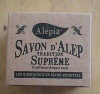 190g Traditional Supreme Aleppo Olive Soap Savon d'Alep / NO Palm Oil / Syria