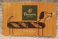 Panera Bread Dog Dachshund Loaf 2016 Gift Card SV-1601454 Collectible