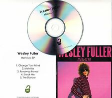 WESLEY FULLER Melvista EP 2016 UK 5-track promo test CD