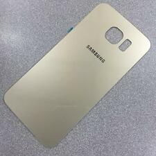 Quality Original Gold Back Rear Glass Battery Cover for Samsung Galaxy S6 UK