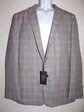 Vince Camuto Men's Tan Gray Cotton Air Jacket Size 44 XL