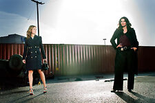 A. Harmon and S. Alexander (Rizzoli and Isles) 8x10 sexy promo poster no text 5