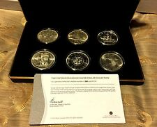 SIX Vintage Canadian Silver Dollar Collection (168/900) - 1935-1967