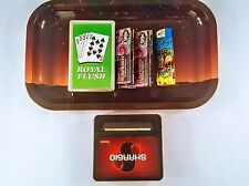 KASHMIR PAPER 1.25 COMBO S TRAY+PAPERS+CASE+ROLLING MACHINE+LIGHTER