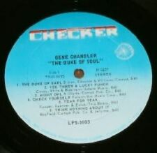 Gene Chandler  The Duke of soul   original  stereo LP Northern soul MINT-