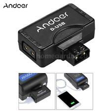 P/D-Tap to 5V Usb Battery Charger Adapter Connector for Sony V-Mount Camera Y5B4