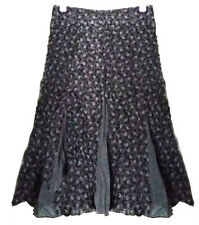 Debenhams Calf Length Cotton Skirts for Women